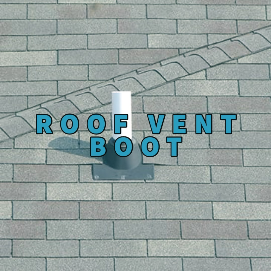 Roof vent boot