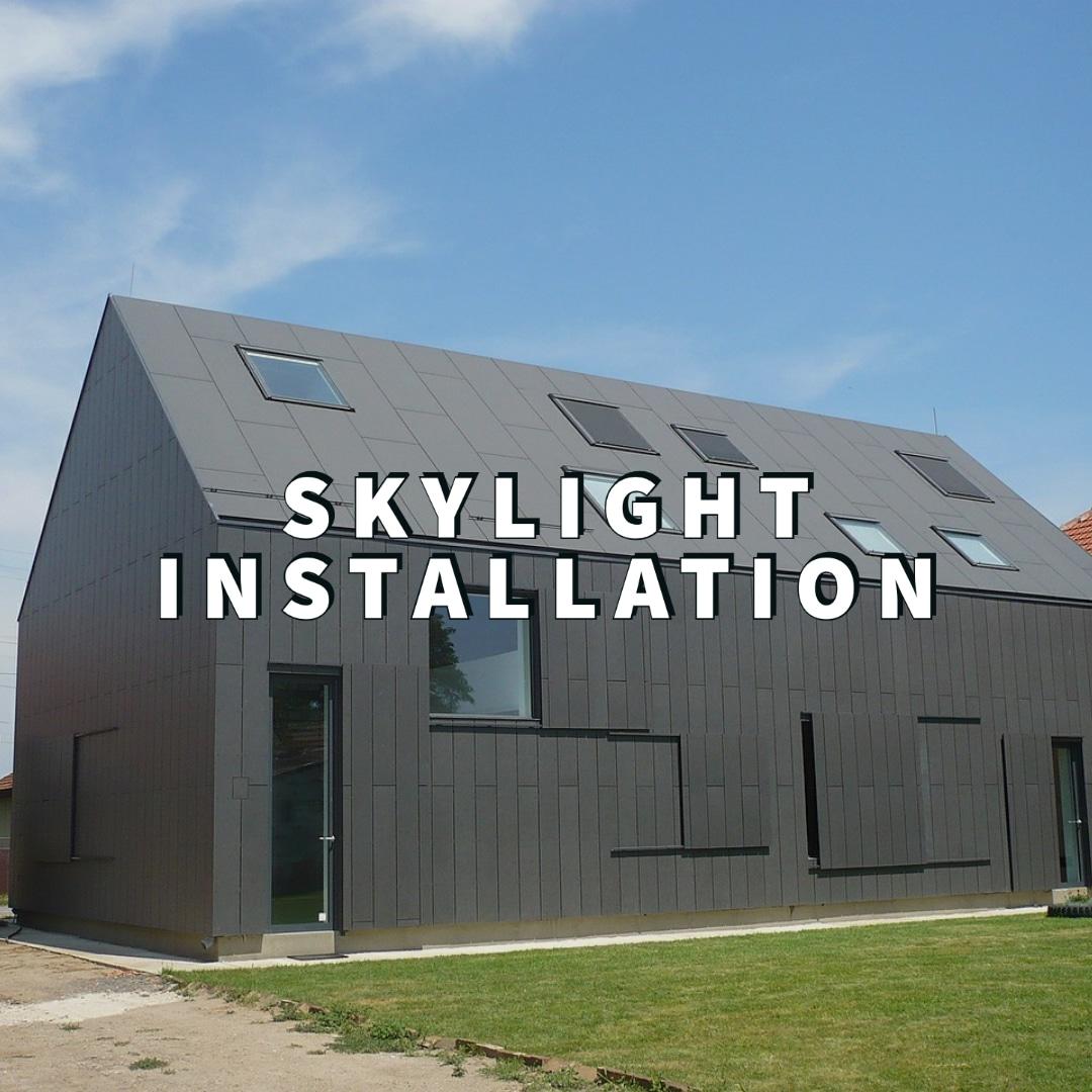 Dayton Skylight Installation