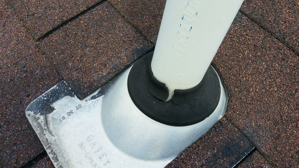 cracked roof vent boot
