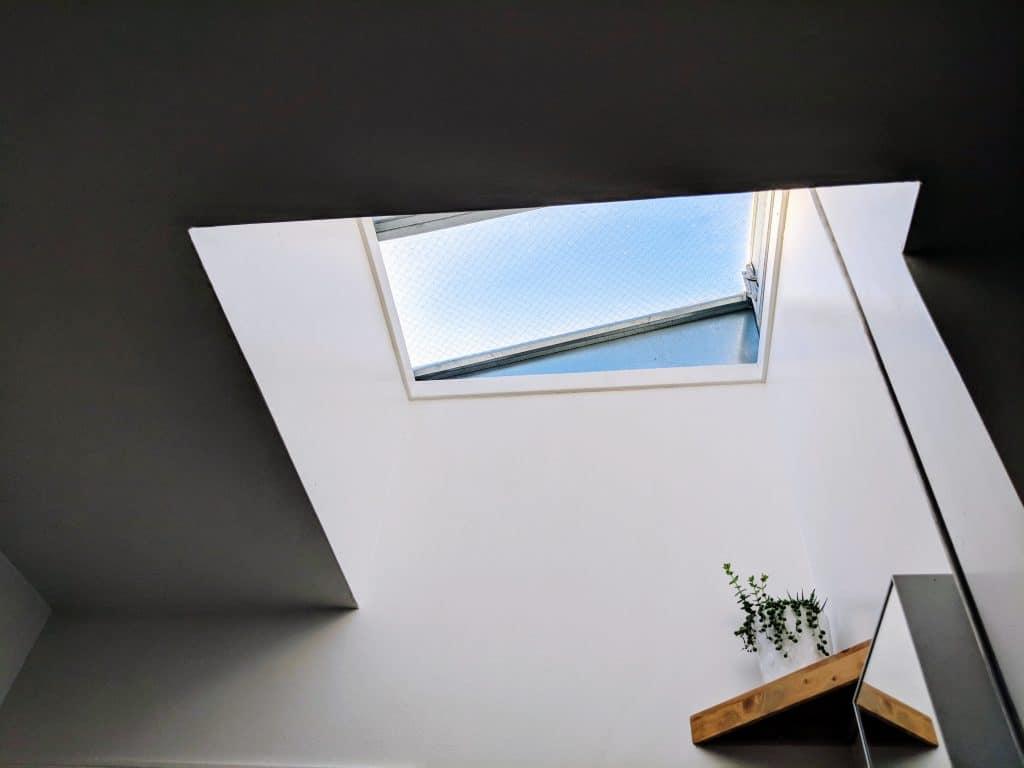 sloped skylight