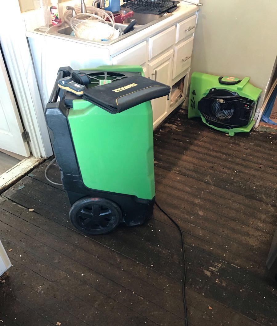 Dayton Ohio Water Damage Restoration Equipment