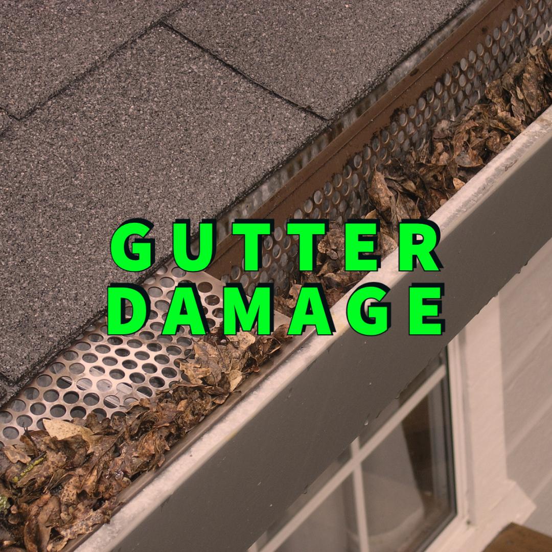 gutter damage
